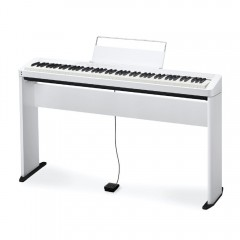 PIANO CASIO PRIVIA DIGITAL BRANCO MODELO PX-S1000WEC2-BR + ESTANTE