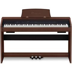 PIANO DIGITAL CASIO PRIVIA PX 770 BN MARROM