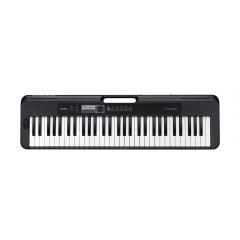 TECLADO MUSICAL CASIOTONE BASICO DIGITAL PRETO MODELO CT-S300C2-BR